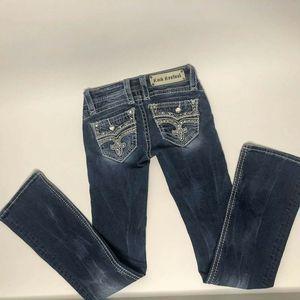 Rock Revival Calli Bootcut 23 Long Bling Pocket